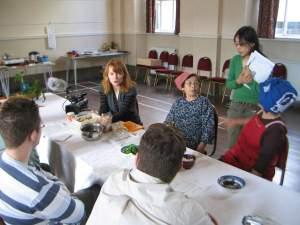 Mountain vegetable workshop