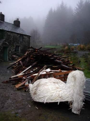 Kerry Stewart's grieving Swan