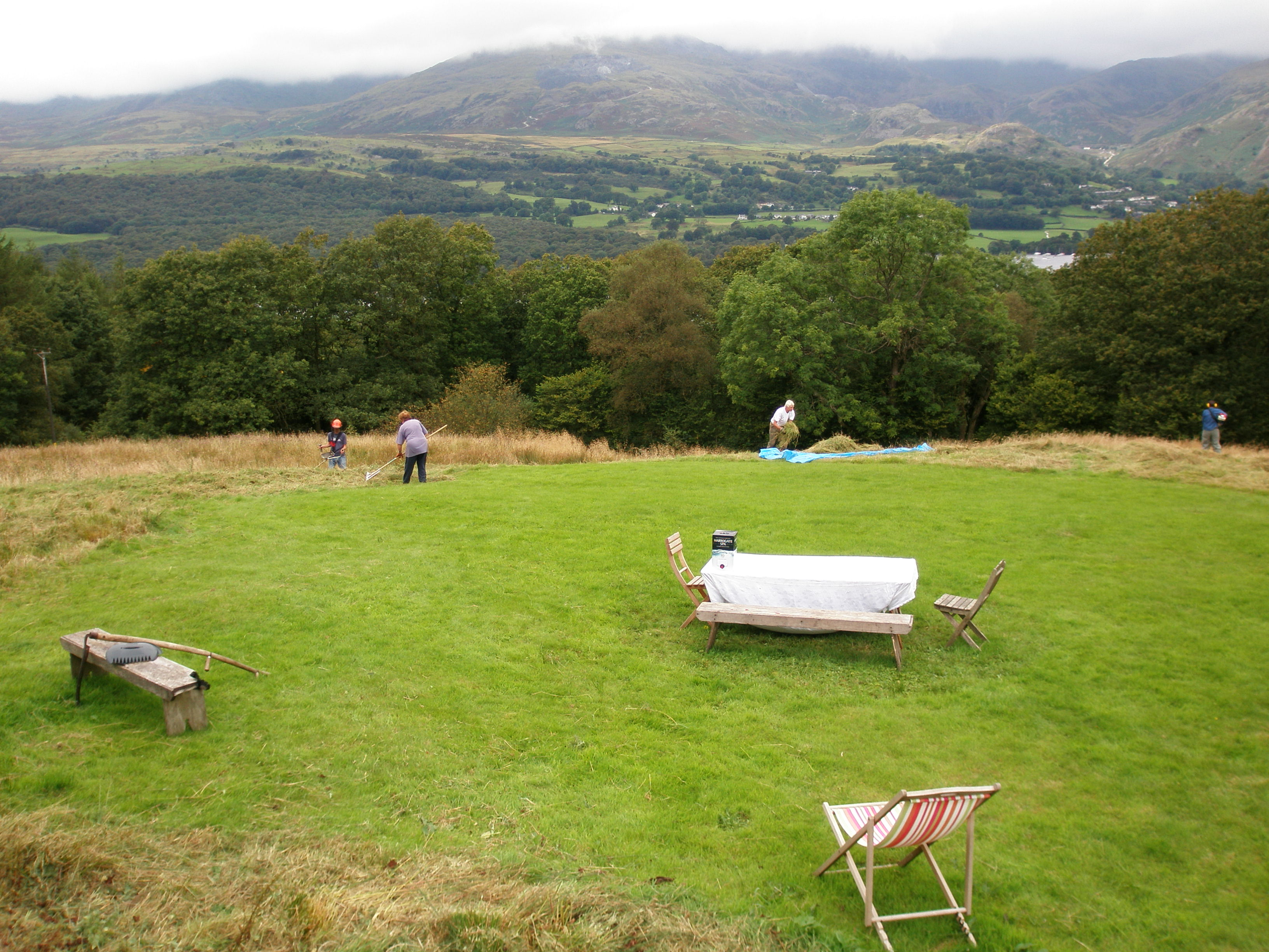 Haymaking, summer 2007