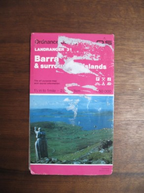 Landranger Map 0031: Barra & South Uist, Vatersay & Eriskay