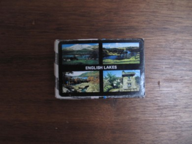 English Lakes Souvenir Playing Cards