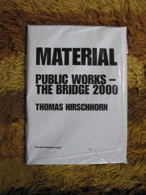 Material : public works - the bridge 2000