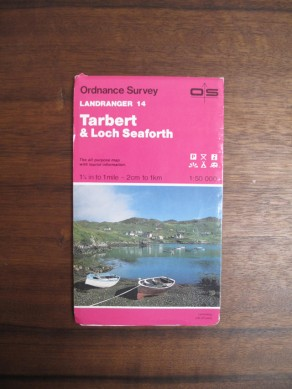Tarbert and Loch Seaforth (Landranger Maps)