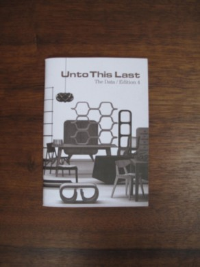 Unto This Last - The Data / Edition 4