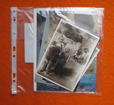 Photographs and Postcards Belonging to Bedwyr Williams