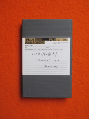 Juneau Projects: 'stalker' (VHS)