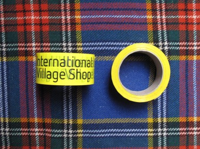 International Village Shop Tape