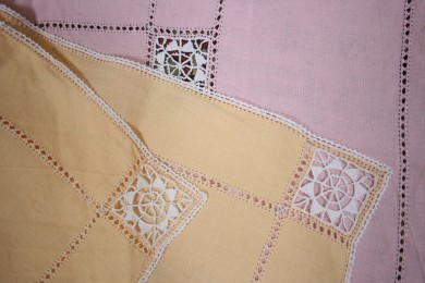 'Ruskin Lace School' tablecloths