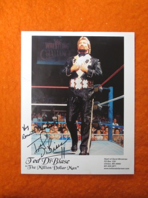 The Million Dollar Man Signed Photo