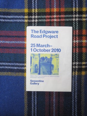 The Edgware Road Project: 25 March–1 October 2010