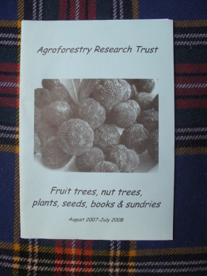 Fruit tree, nut trees, plants, seeds books and sundries