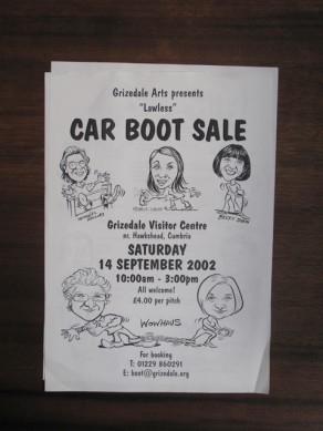 Lawless Car Boot Sale Flyer