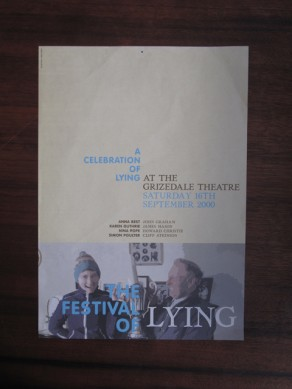 The Festival of Lying Flyer