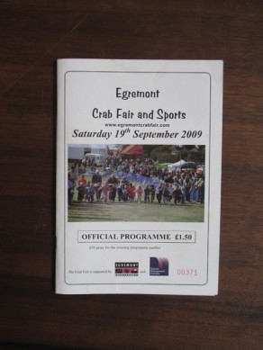 Egremont Crab Fair and Sports Official Programme