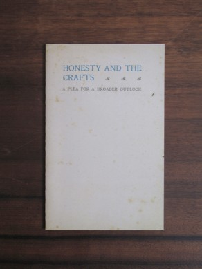 Honesty and the Crafts