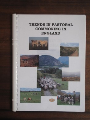 Trends in Pastoral Commoning in England