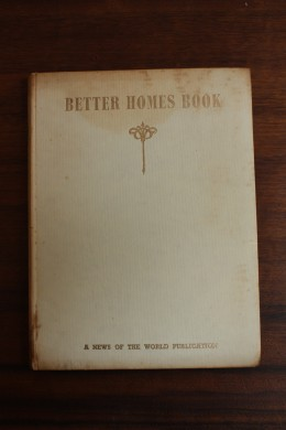 Better Homes Book