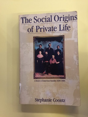 The Social Origins of Private Life